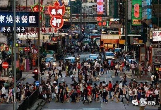 香港是世界上最拥挤的城市之一