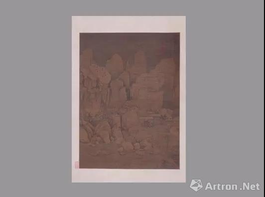 ▲元黄公望剡溪访戴图