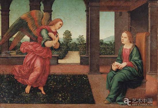 洛伦佐·迪·克雷蒂的《天使报喜》