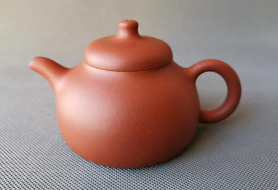程曙紫砂壶作品--匏瓜