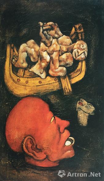 宋永平作品《苦海》 1990