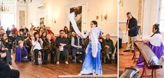 2月9日举办了开幕式,酒会,中国茶道和庆祝中国新年的传统音乐会。