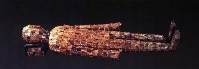 玉枕 西汉 1973年河北定州中山怀王刘修墓出土   现藏于河北省文物研究所