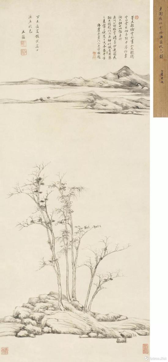 No.28王鉴1667年作