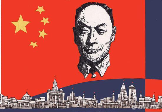 《陈毅市长》封面