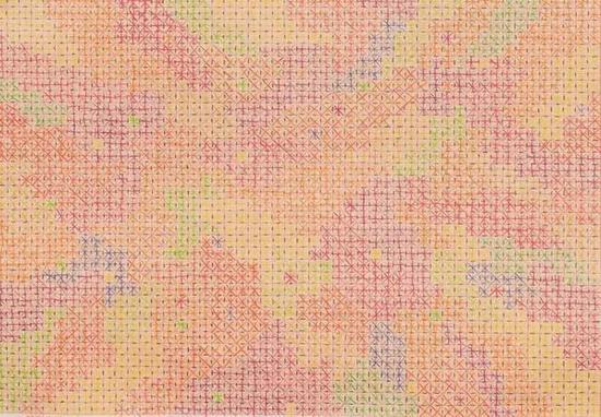 十示2004-B1 / 制图纸上彩铅 / 2004年