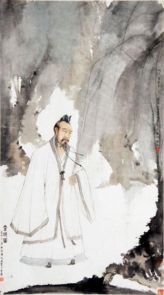 傅抱石 《金城图》 1942年作 北京荣宝斋藏