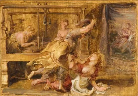 ▲ 鲁本斯-《密涅瓦惩罚阿拉克涅》