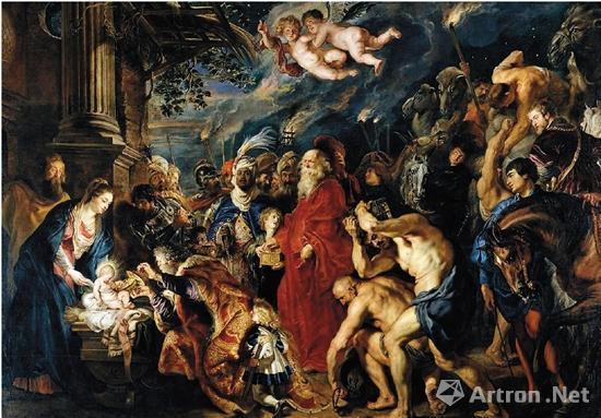 鲁本斯 三博士朝圣 1609年
