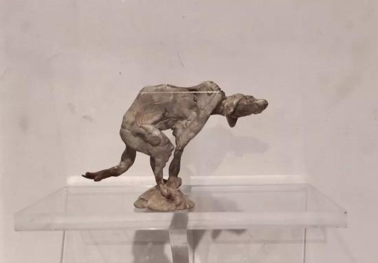 蒋铁骊 《小造像》 材质铸银8-12cm 高 8件 2017