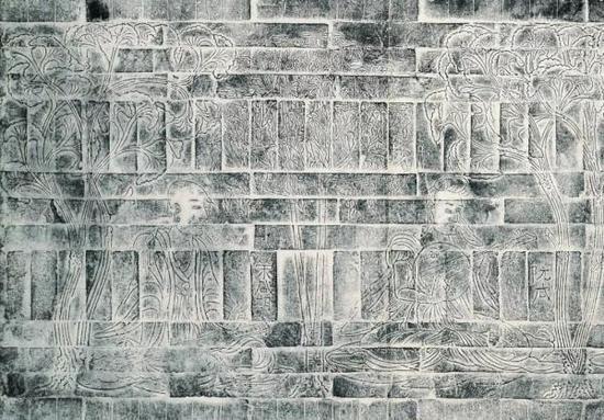 砖画墓(局部)