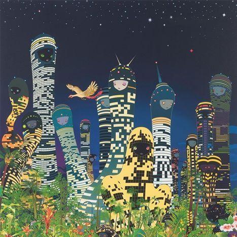 青岛千穗,City Glow , 2005