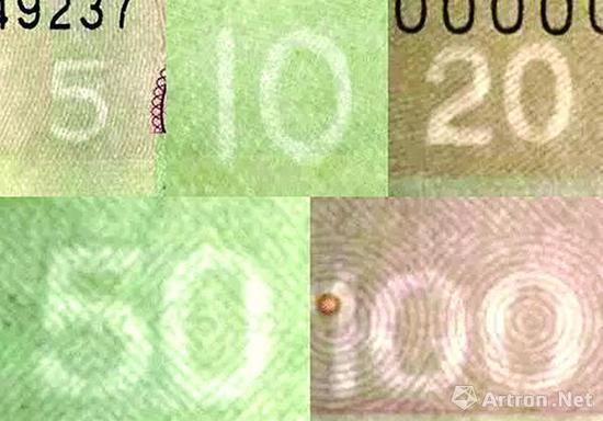图2 第五套的数字白水印