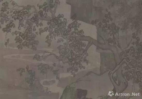 宋 李唐 《采薇图》 局部