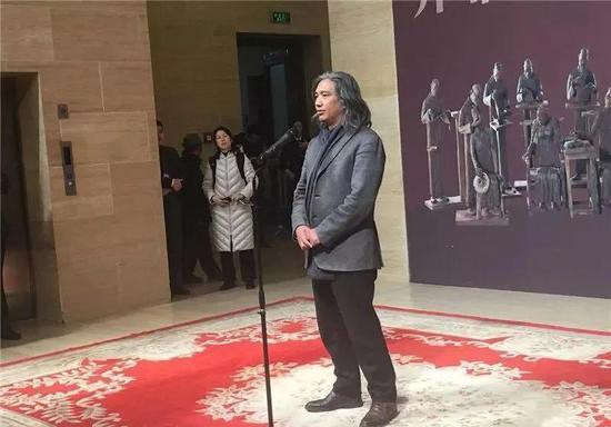 中国美术馆馆长吴为山开幕致辞