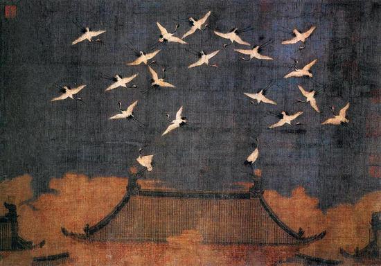 鹤在中国美术中的吉祥寓意