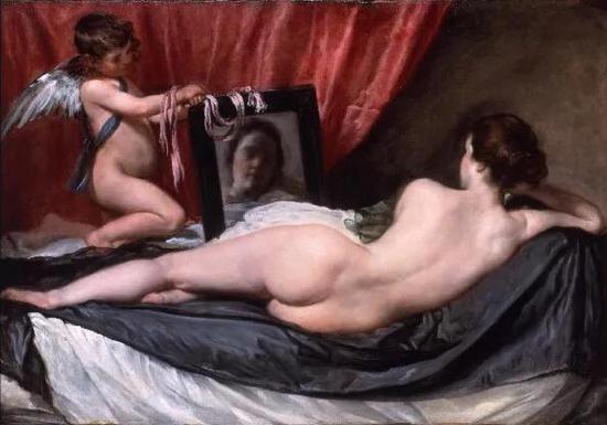 《镜中的维纳斯》