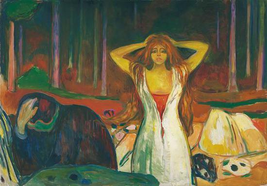 灰烬 1925年 油彩、油画
