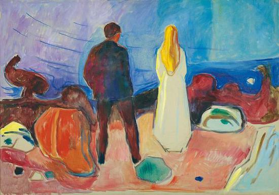 孤独的人们 1933-35 油彩、油画