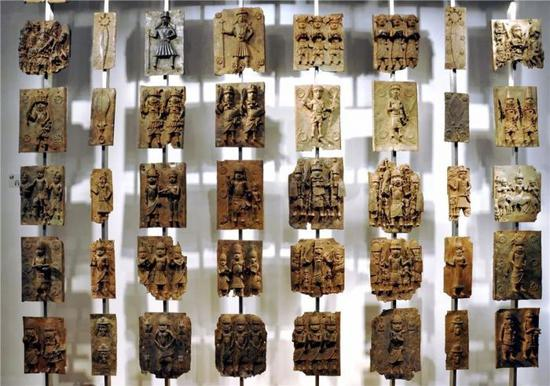大英博物馆所藏的贝宁青铜器模具?图片:wikimedia