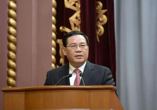 中共中央政治局委员、中共上海市委书记李强讲话