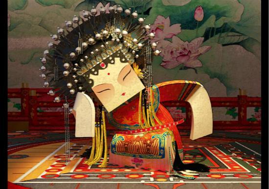 图片说明:叶凤华,《长生殿》