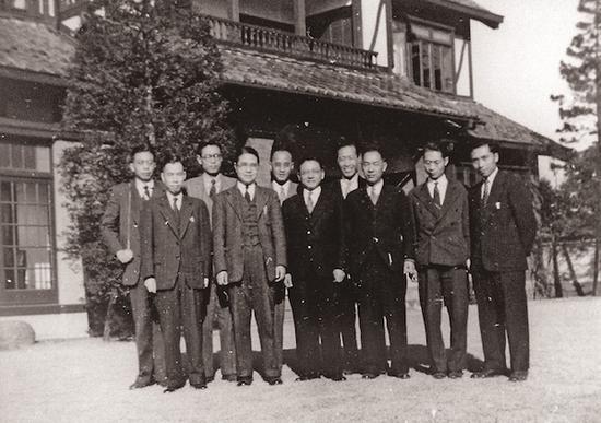 参加东京审判的中国检察官团队
