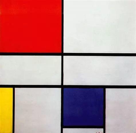《构成C(第3号),红黄蓝》