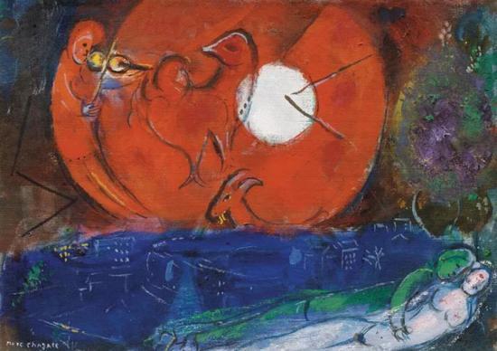 马克·夏加尔(俄罗斯/法国,1887-1985)