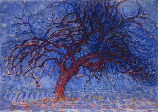 《夜晚,红树》(1908)