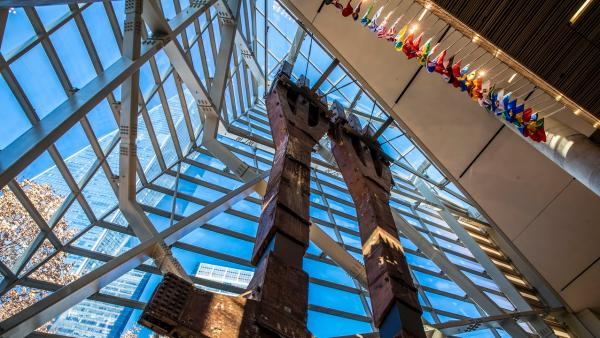 9・11纪念馆内部 图:9・11纪念馆