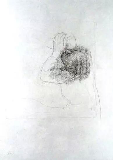 《告别》 草图