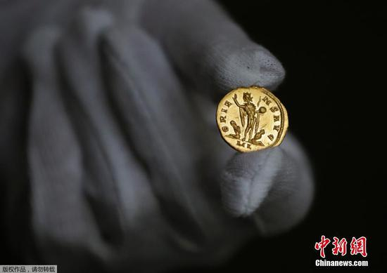 世界仅存的两枚古罗马金币
