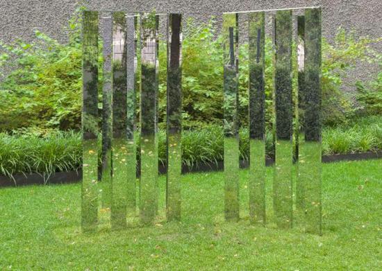 雕塑公园中Jeppe Hein的作品