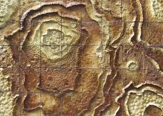 陶瓷壁画《太空印象》