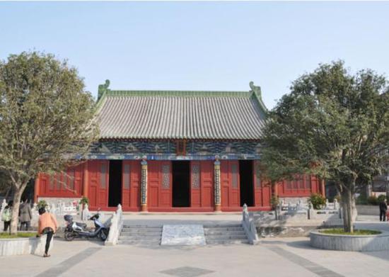 陕西安康文庙大成殿 白海峰摄