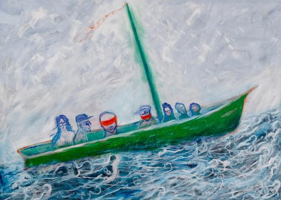 """Lawrence Ferlinghetti, """"Boat People"""" (2006)"""