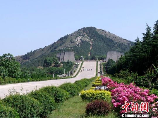 乾陵。陕西省文物局