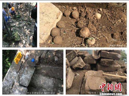 施工现场情况。中国文物保护基金会供图