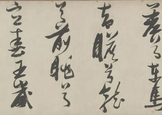 明 张瑞图《草书登楼歌卷》 故宫博物院藏