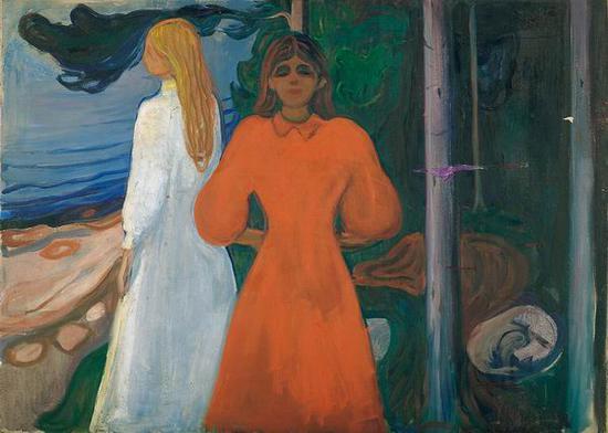 红与白 1899-1900年 油彩、油画