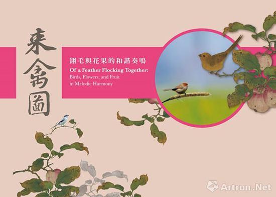 来禽图——翎毛与花果的和谐奏鸣展海报