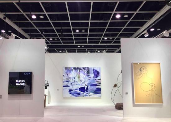 K?nig Galerie在2018香港巴塞尔艺术展
