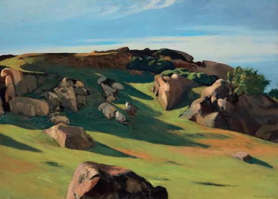 爱德华·霍普《开普安的花岗岩》成交价达8,412,500美元