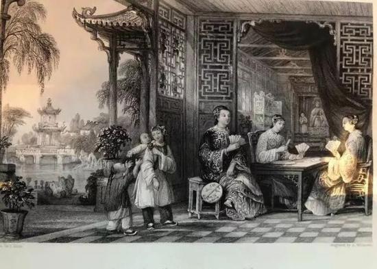 1843年英国伦敦出版《中国风貌》