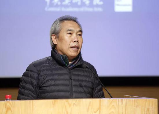 中央美术学院党委副书记王少军致辞