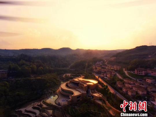 图为哈尼历史文化博物馆外观。元阳县委宣传部供图