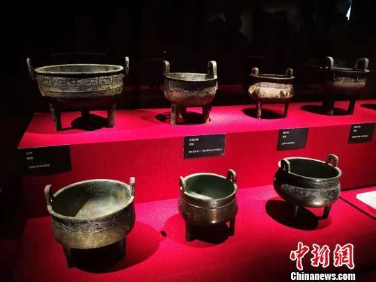 山西青铜博物馆展品。 杨杰英 摄
