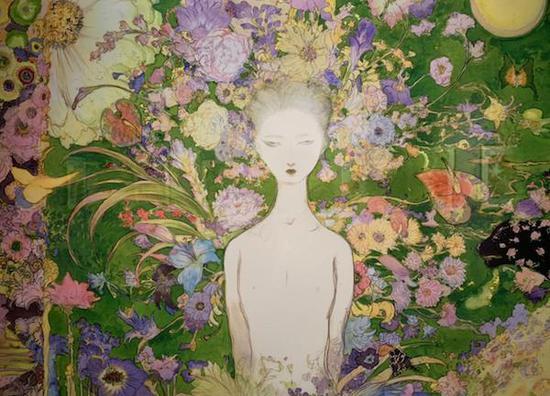 天野喜孝,《蓝色多瑙河》,1993