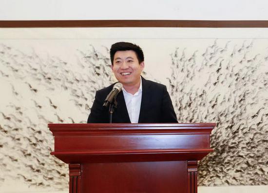 北京达美文化投资有限公司总经理张准致辞